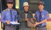 Hành khách bỏ quên 60 triệu đồng trên tàu nhận lại tài sản