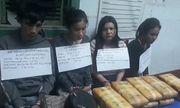 Bắt 4 nghi phạm nước ngoài vận chuyển 60.000 viên thuốc lắc vào Việt Nam