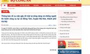 Bộ Công an thông tin vụ gây rối trật tự công cộng và chống người thi hành công vụ ở xã Đồng Tâm