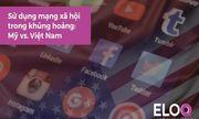 Quan điểm khác biệt khi sử dụng mạng xã hội trong xử lý khủng hoảng truyền thông tại Việt Nam và Mỹ