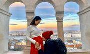 MC Hoàng Oanh chính thức xác nhận mang thai con đầu lòng