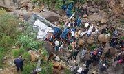 Lai Châu: Xe tải bất ngờ lao xuống suối cạn, 3 người tử vong thương tâm