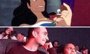 Tan chảy trước màn cầu hôn bạn gái lãng mạn bằng phim hoạt hình