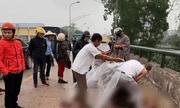 """Nhân chứng vụ người phụ nữ bị chém nguy kịch ở Thái Nguyên: """"Chém mẹ xong, người đàn ông đưa bé gái đi cùng cho nhóm tôi bế"""""""