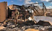 Cận cảnh căn cứ Mỹ tan hoang sau khi trúng