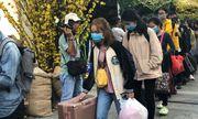 Hàng ngàn sinh viên về quê đón Tết trên chuyến xe miễn phí