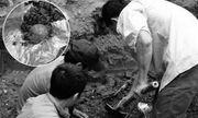 Người dân phát hiện nhiều mẩu xương nghi hài cốt người ở vuông tôm