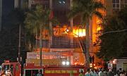 Nạn nhân thoát chết trong vụ cháy tòa nhà dầu khí kể lại trải nghiệm kinh hoàng