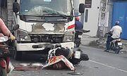 TP.HCM: Va chạm với xe tải, một người đàn ông ngoại quốc tử vong tại chỗ