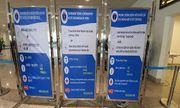 Sân bay Nội Bài tăng cường tăng cường nhân lực, trang thiết bị kiểm dịch phòng viêm phổi cấp