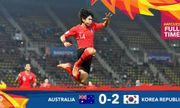 U23 Hàn Quốc xuất sắc đả bại U23 Australia, giành vé vào chung kết U23 châu Á