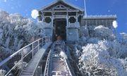 Sapa xuống dưới 0 độ, đỉnh Fansipan phủ trắng băng tuyết như trời Âu vào ngày mùng 3 Tết
