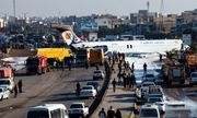 Máy bay chở khách của Iran lao ra phố khi hạ cánh