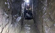 Cận cảnh đường hầm vận chuyển ma túy dài nhất ở biên giới Mỹ- Mexico mới được phát hiện