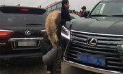 Cục CSGT lên tiếng vụ xe Lexus đầu biển xanh, đuôi biển trắng tại chùa Tam Chúc
