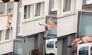Người đàn ông chỉ mặc quần lót ngã khỏi cửa sổ nghi do trốn chồng của tình nhân