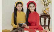 Trương Thị May cùng em gái hóa thiếu nữ Việt Nam xưa trong bộ ảnh áo dài ấn tượng
