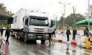 Lạng Sơn: Chính thức thông quan hàng hóa ở cửa khẩu quốc tế Hữu Nghị