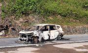 Quảng Nam: Ôtô bất ngờ phát nổ rồi bốc cháy, 2 người tử vong thương tâm