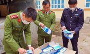 Hà Giang: Thu giữ gần 62.000 khẩu trang lậu chuẩn bị