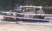 Vụ 2 người chết trong ô tô bốc cháy: Nạn nhân là vợ chồng