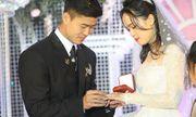 Những hình ảnh ấn tượng trong lễ cưới Duy Mạnh - Quỳnh Anh