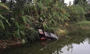 Quảng Ninh: Ô tô lao xuống ao, hai vợ chồng tử vong thương tâm
