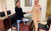 Người đàn ông viết thư cảm ơn CSGT Hà Nội vì tìm lại được tài sản đã mất