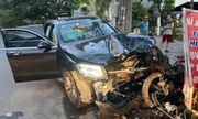 Vụ Mercedes tông GrabBike chở nữ tiếp viên hàng không: Tài xế xe ô tô bị khởi tố