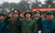 Thanh niên Hà Nội rạng rỡ lên đường nhập ngũ