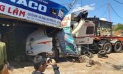 Tin tai nạn giao thông mới nhất ngày 13/2/2020: Tai nạn liên hoàn trên đường Hồ Chí Minh