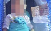 Xót xa bé trai 2 tuần tuổi bị bỏ rơi kèm lời nhắn gửi và 3 triệu đồng