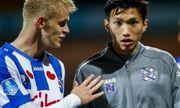 Cơ hội ra sân của Văn Hậu tại SC Heerenveen ngày càng khó khăn