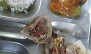 Làm rõ vụ công nhân phản ánh xuất hiện giòi sống trong suất ăn ở Bắc Ninh