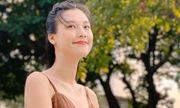 Á hậu Hoàng Oanh nói gì khi bị nhắc nhở chuyện mang thai vẫn đi giày cao gót?