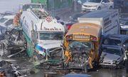 200 phương tiện đâm liên hoàn trên đường cao tốc, ít nhất 2 người thiệt mạng, 40 người bị thương