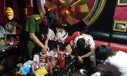 Gia Lai: Bắt quả tang 12 đối tượng sử dụng ma túy trái phép tại quán karaoke