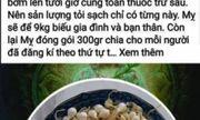 Tung tin sai về tỏi Lý Sơn, chủ tài khoản Facebook Lương Hoàng Anh bị phạt 12,5 triệu đồng