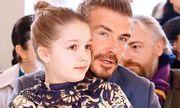 Hành động của Beckham chứng minh bé Harper đích thực là nàng công chúa của gia đình