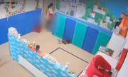 Phẫn nộ cảnh giáo viên tát, quăng trẻ xuống đất vì không chịu đeo khẩu trang