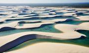 Kì lạ sa mạc có nhiều hồ nước nhất thế giới