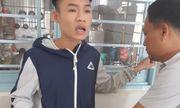 Bị kiểm tra, nhóm thanh niên dùng hung khí chém công an