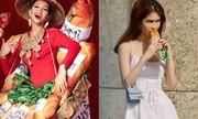 Sao Việt đua nhau chia sẻ hình ảnh với bánh mì vừa tự hào, vừa...ngon miệng