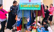 Xe quần áo từ thiện ấm áp ở Quảng Nam