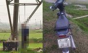 Phát hiện người đàn ông tử vong trong tư thế treo cổ trên cột điện ở Hà Nội