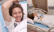 Ngọc Lan nhập viện lúc nửa đêm nhưng chia sẻ đầy hài hước khiến fan vừa thương vừa bật cười