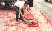 Điều tra vụ đám cưới ở Hà Nội đốt bánh pháo dài hơn 50m