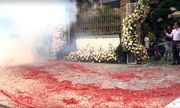 Khởi tố vụ đốt pháo đỏ đường trong đám cưới ở Hà Nội