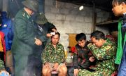 Bộ đội Biên phòng Hà Tĩnh ứng cứu kịp thời 8 thủy thủ gặp nạn trên biển