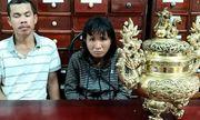 Bắt giữ đôi vợ chồng trộm lư hương đồng ở đền thờ Anh hùng liệt sĩ Võ Thị Sáu
